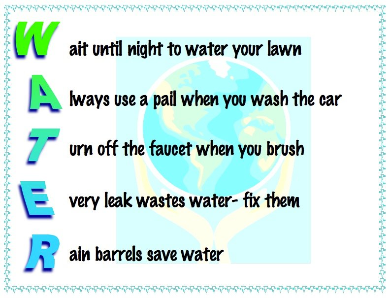 Water Cycle Acrostic Poem Examples Diigo Groups
